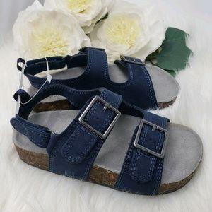 OshKosh B'Gosh Buckle Sandals Navy Boy Toddler